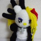 yoshikittyを編んでみました